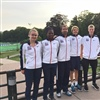 The Great Britain team looking smart !