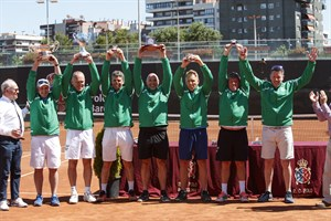 IC Ireland wins the men's Potter Cup / IC Spain wins the Ladies Potter Cup