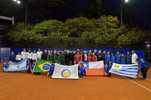 Brazilian tennis legends united to honor IC Rod Laver South American Junior Challenge 2019