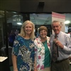 Kerryn, Cecilie and Ken with IC NZ tie