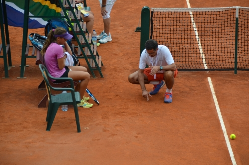 Spanish tactics in the clay