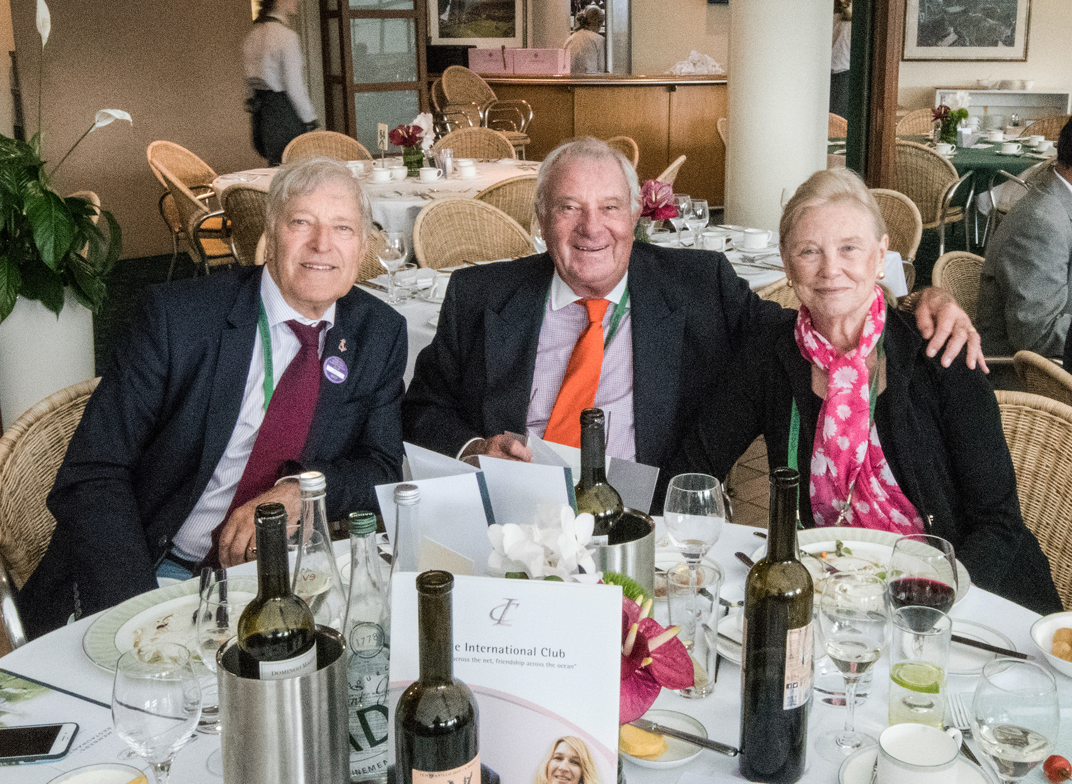 The annual lunch for Presidents and Secretaries at Wimbledon