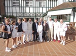 IC Argentina hosts match with IC France on April 6, 2013, at Tenis Club Argentino in Buenos Aires