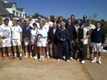 IC Argentina hosts match with IC Uruguay on March 16, 2013, at Pilará Tenis Club