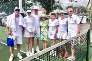IC Caribbean Tennis Doubles Week. April 8-12 Barbados 2019